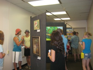 UAC Art Show_Watermelon Festival 2015